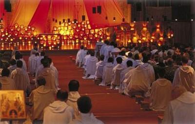 A Taizé gathering