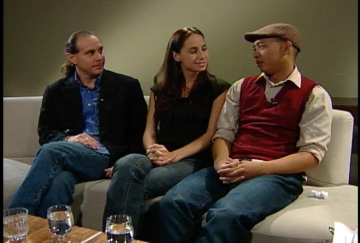 Pedro, Rosanna and Byron