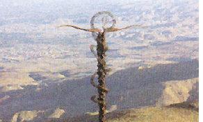 Mount Nebo and Cross
